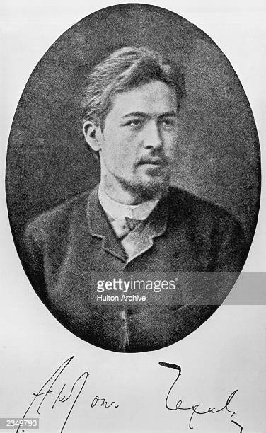 Russian dramatist Anton Chekhov circa 1885 His most famous works include 'Uncle Vanya' 'The Three Sisters' and 'The Cherry Orchard'
