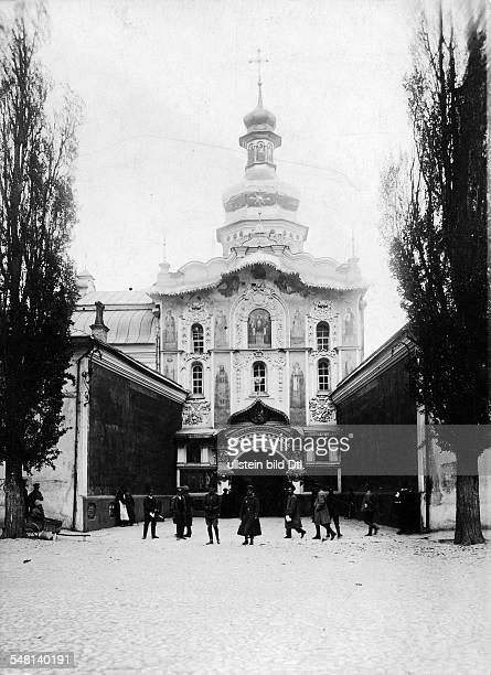 Russian Empire Ukraine Kijew / Kiev Kiev Pechersk Lavra the entrance of the monastery ca 1917 Photographer Walter Gircke Vintage property of ullstein...