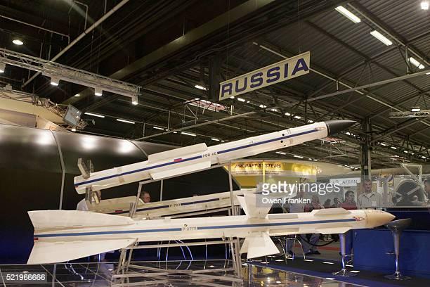 Russian Exhibit at Paris Air Show