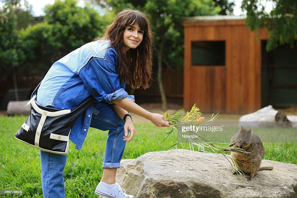 Miroslava Duma Visits Taronga Zoo