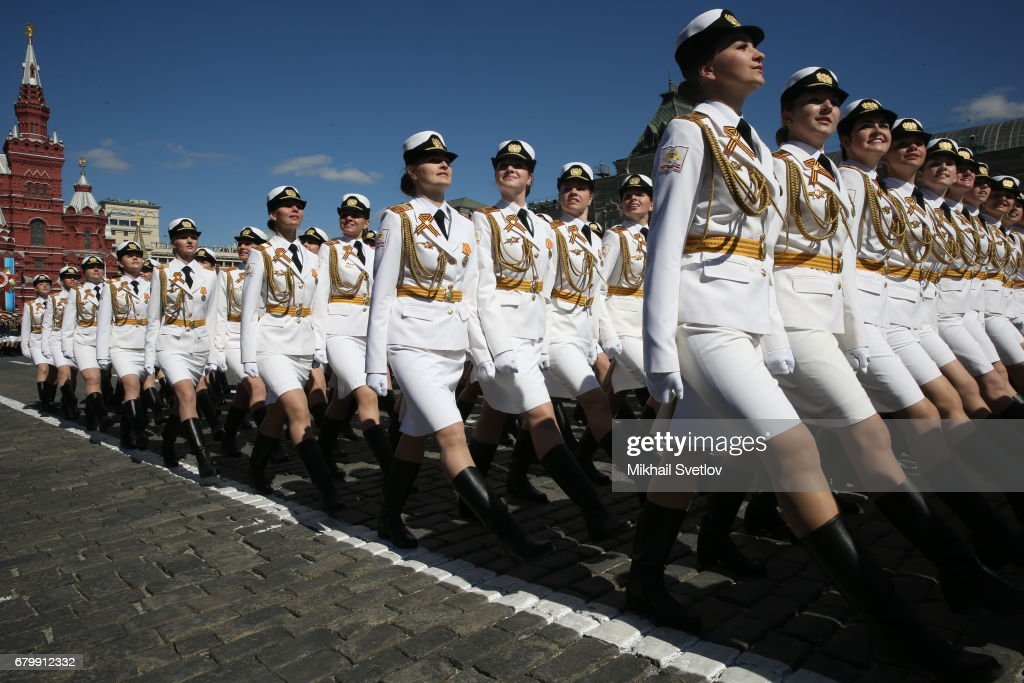 Rehearsal of the Victory Day Military Parade in Moscow : News Photo