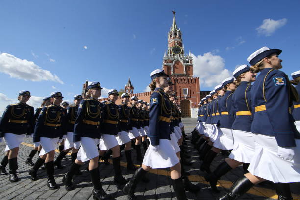 RUS: Red Square Military Parade Rehearsals