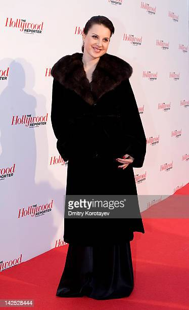 Russian figure skater twice world champion the first in the history of the seven times European champion Irina Slutskaya attends The Hollywood...