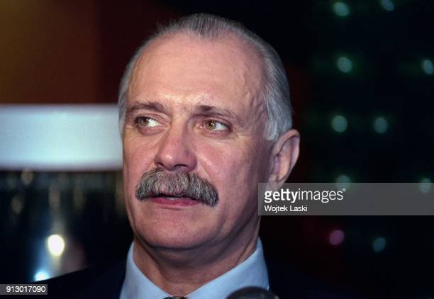Russian Film Director Nikita Mikhalkov in Moscow Russia on 1998