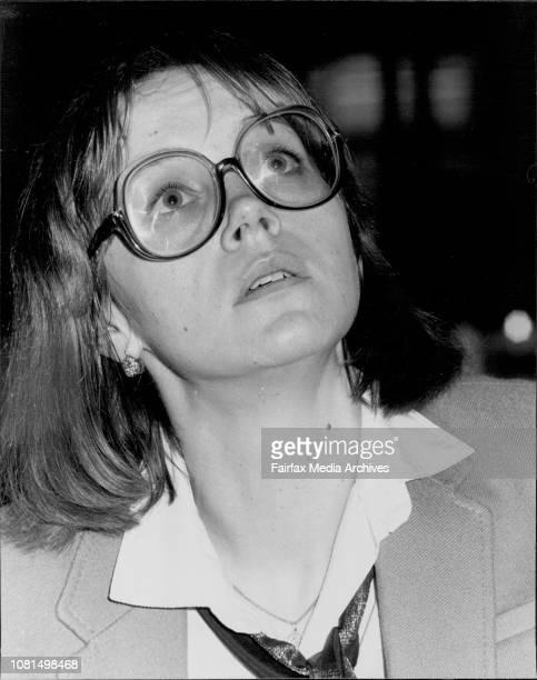 Russian film star Irina Kupchenko March 22 1984