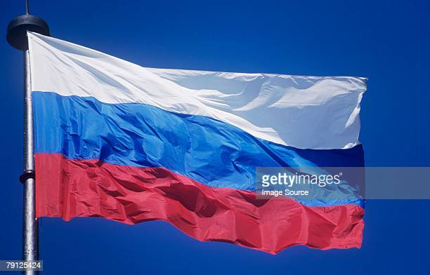 russian flag - russian culture stock pictures, royalty-free photos & images