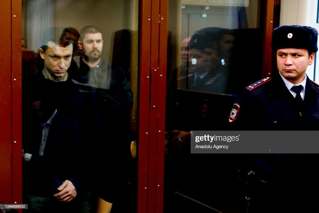 Russian Footballers Mamaev and Alexander's trial  : News Photo