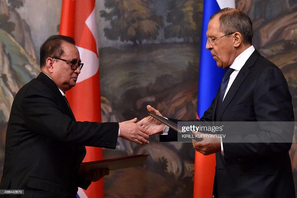 RUSSIA-NKOREA-POLITICS-DIPLOMACY : News Photo