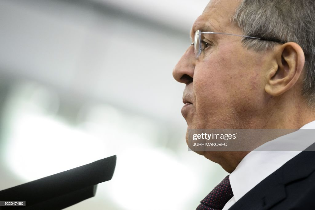SLOVENIA-RUSSIA-DIPLOMACY : News Photo