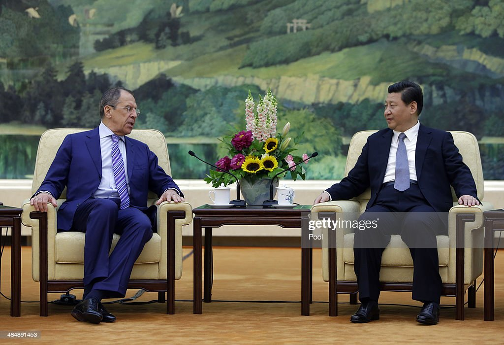 Russian Foreign Minister Sergey Lavrov Visits China