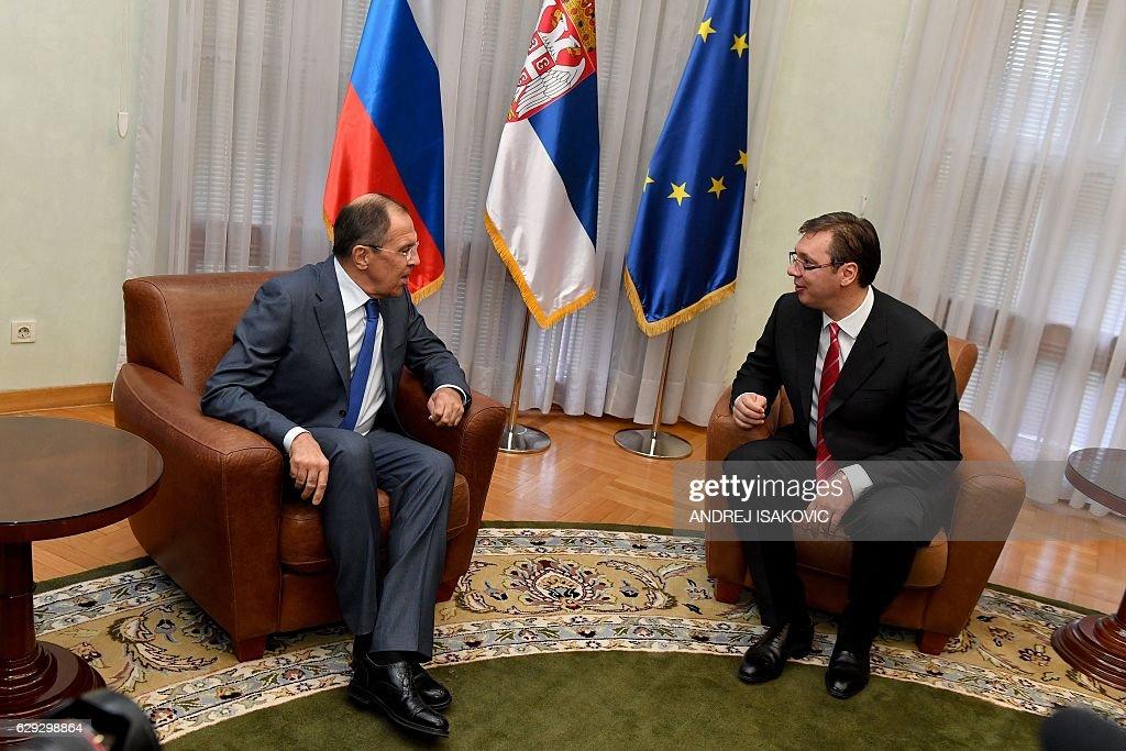SERBIA-RUSSIA-DIPLOMACY : Nachrichtenfoto
