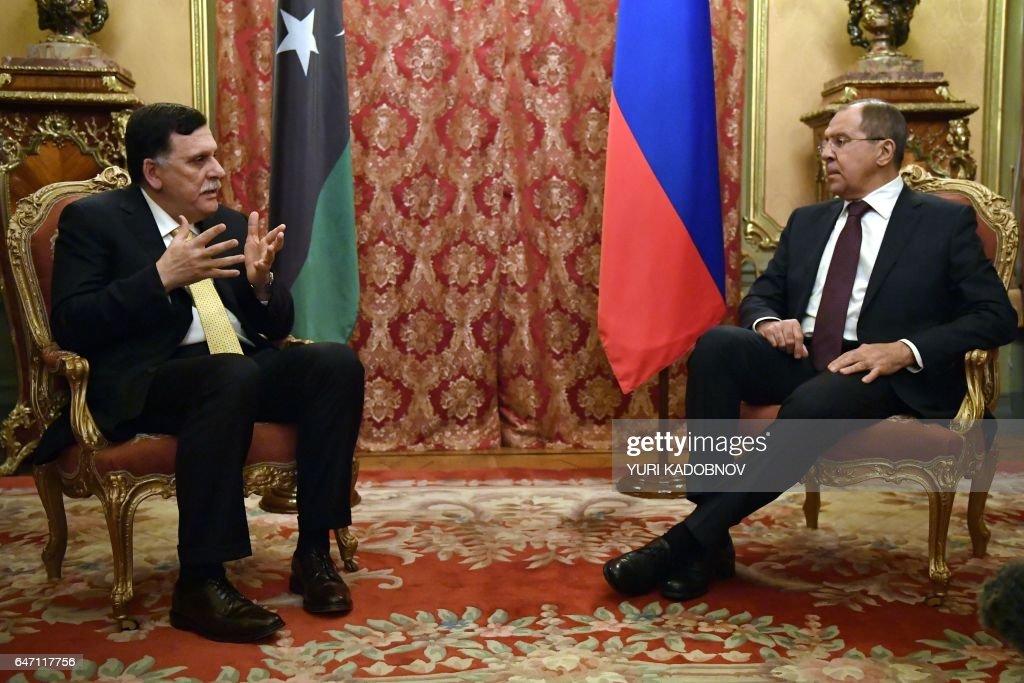 RUSSIA-LIBYA-POLITICS-CONFLICT : News Photo