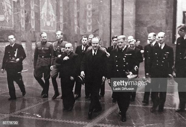 Russian Foreign Minister Vyacheslav Molotov visiting German Ministry of the Interior in Berlin November 1940