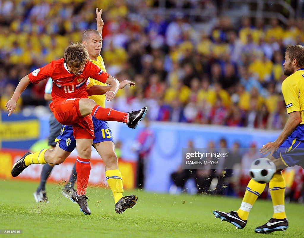 Russia v Sweden - Group D Euro2008