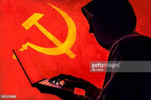 russian hacker - russia stock pictures, royalty-free photos & images