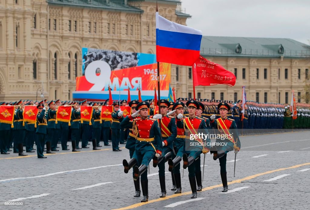 RUSSIA-HISTORY-WWII-ANNIVERSARY : Foto di attualità