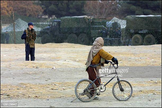 Russian Humanitarian Convoy Arrived In Kabul On November 27Th 2001 In Kabul Afghanistan A Russian Humanitarian Convoy Of 18 Trucks From Emercom...