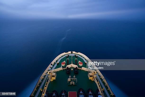 Russian Icebreaker in Weddell Sea