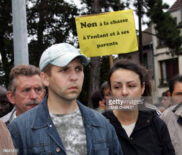 Latest News Illegal Immigrants: Russian Illegal Immigrants Natalia And Andrei Attend A