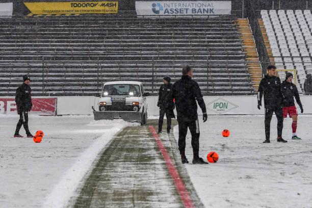 BGR: Heavy Snow And Below Zero Temperatures In Bulgaria