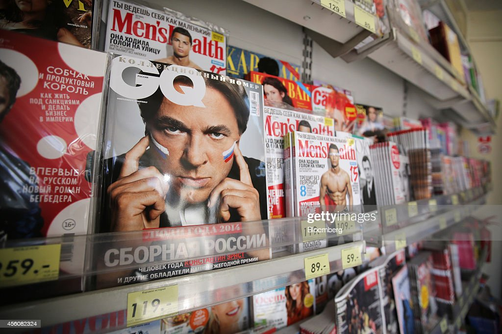 Print Publications For Sale As Russia Threatens Foreign Media Ownership : News Photo