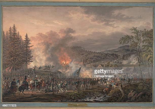 Russian LifeGuards Regiment under command of Count OstermannTolstoy 1813 Artist Habermann Franz Edler von