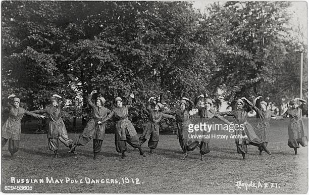 Russian May Pole Dancers 1912