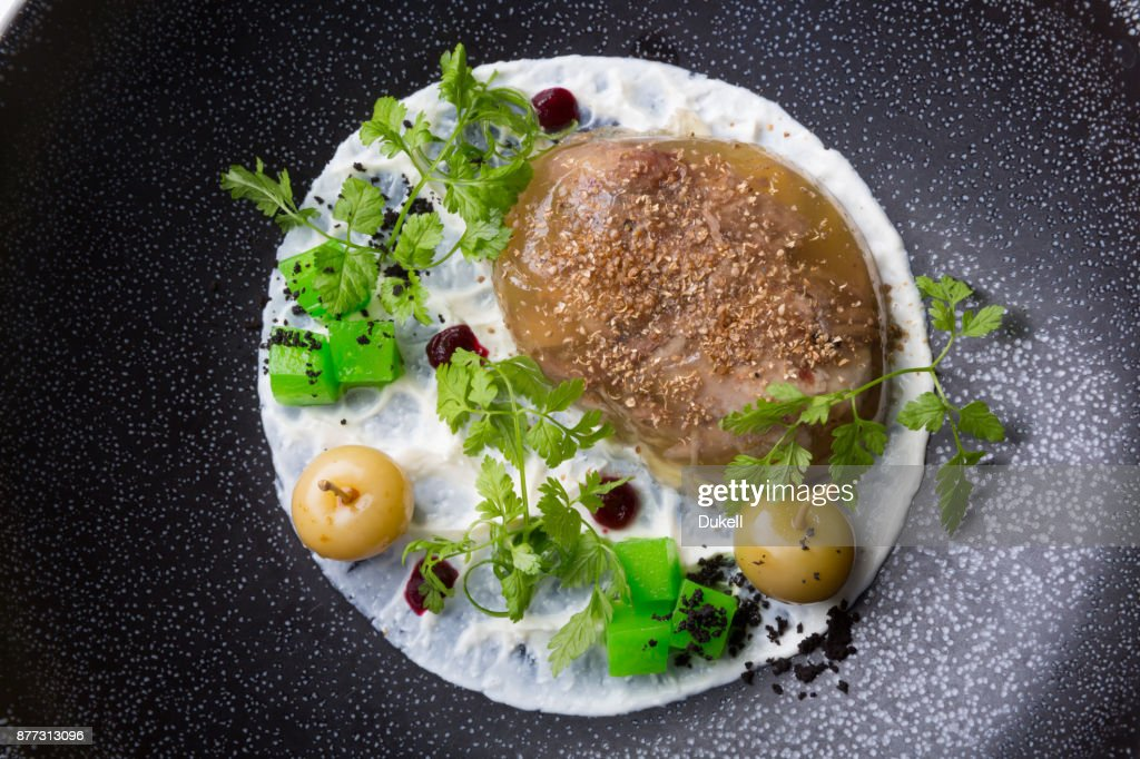 Russian Meat Jelly Stock Photo - Getty Images