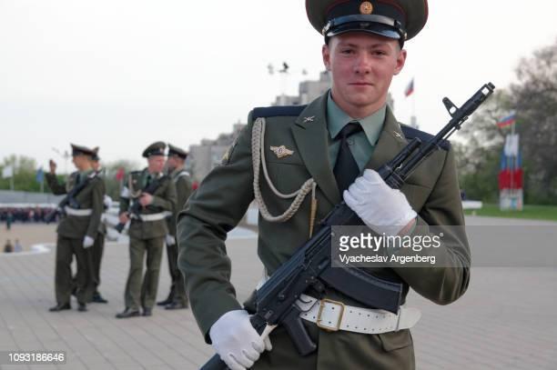 russian military student, rostov-on-don - argenberg fotografías e imágenes de stock