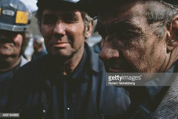 Russian miners 1991