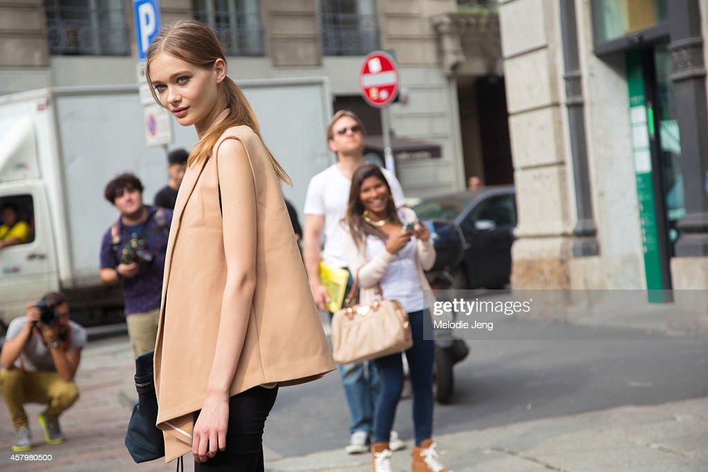 96ad96978 Street Style - Day 1 - Milan Fashion Week Womenswear Spring/Summer 2015 :  News