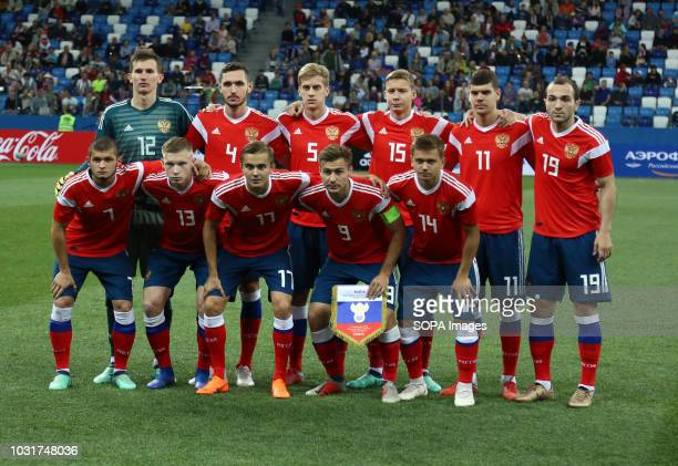 Russian national team players 2019 UEFA European Under21 Championship Russia vs Serbia Group 7 The Russian team lost to Serbia team 32
