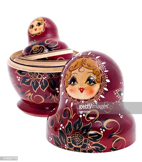 Russian Nesting Dolls also known as Babushkas