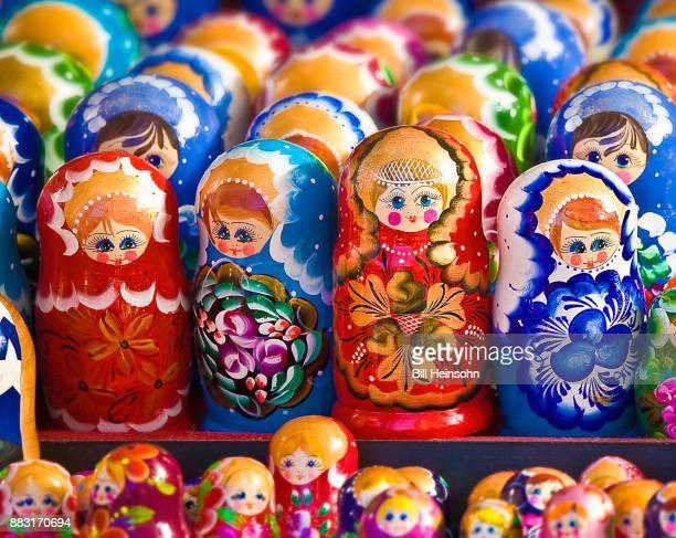 Russian nesting dolls (matryoshka doll)
