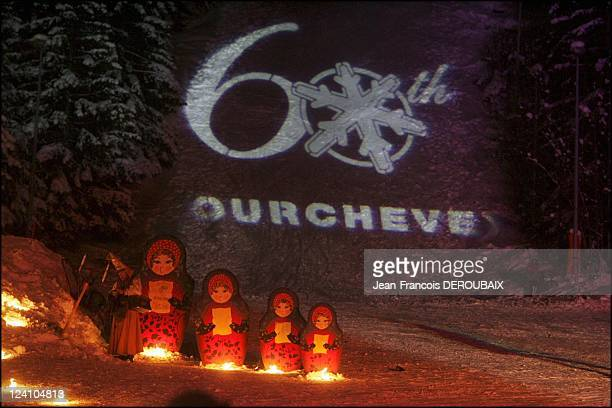 Russian oligarchs in Courchevel France on January 06 2006 Russian oligarchs take opportunity of their children's schol breaks to spend without...