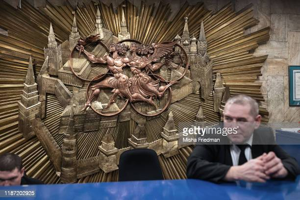 Russian Olympic Committee HQ on December 5, 2019 in Moscow, Russia. The World Anti-Doping Agency executive committee will vote on Monday whether to...