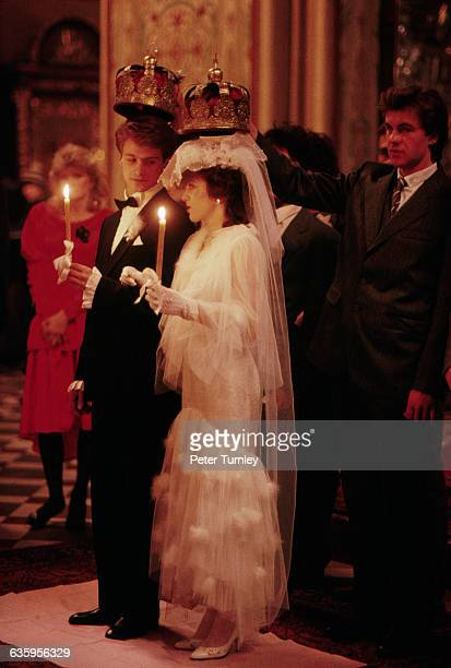 Orthodox Wedding Crowns Stock Photos And Pictures