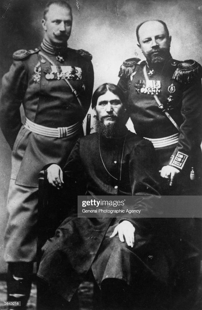 Rasputin Seated : News Photo