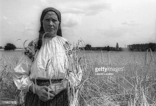 Russian peasant in the Voronezh region of Russia, 1976.