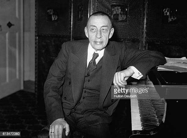 Russian pianist and composer Sergey Vasilyevich Rachmaninoff