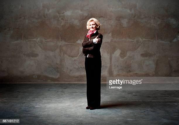 Russian pianist Maria Belooussova, member of the Ensemble Musique Oblique.