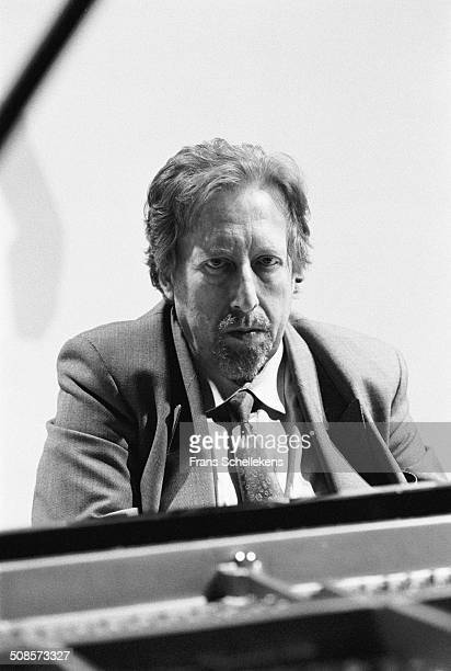 Russian piano player Lazar Berman at the Paris Conservatory, France on 16th November 1991.