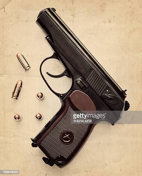 pistola russa - sede da kgb imagens e fotografias de stock