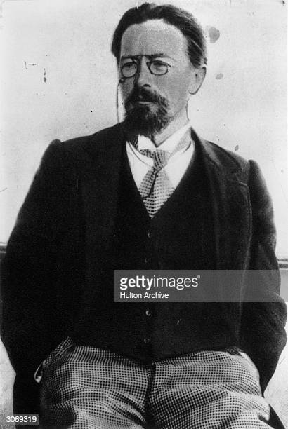 Russian playwright Anton Pavlovich Chekhov best known for the classic dramas 'The Seagull' 'Uncle Vanya' 'Three Sisters' and 'The Cherry Orchard'
