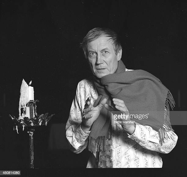 Russian poet Yevgeny Yevtushenko photographed in 1986 at the Cathedral of St John the Divine in New York City