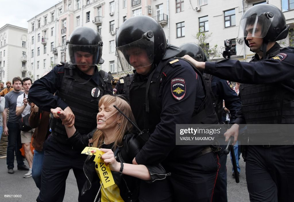 RUSSIA-OPPOSITION-PROTEST : News Photo