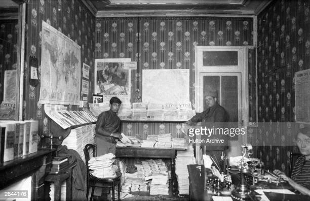 Russian political refugees from the Revolution of 1905 set up their own news agency in Paris