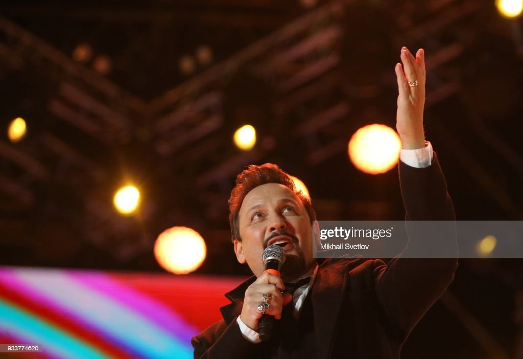 Russian Pop Singer Stas Mikhailov Sings During President Vladimir News Photo Getty Images
