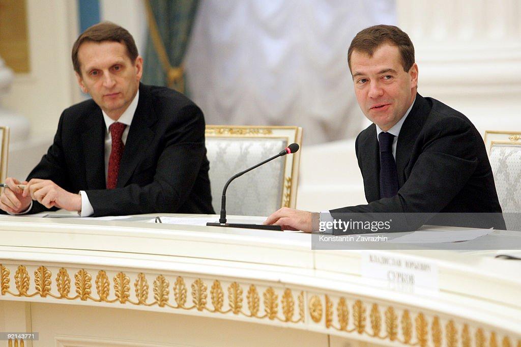 President Medvedev Meets Top Russian Businessmen