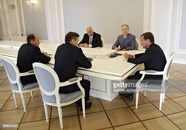 Russian President Dmitry Medvedev , Russian Security Council Secretary Nikolai Patrushev , head of the investigative committee under the Russian...